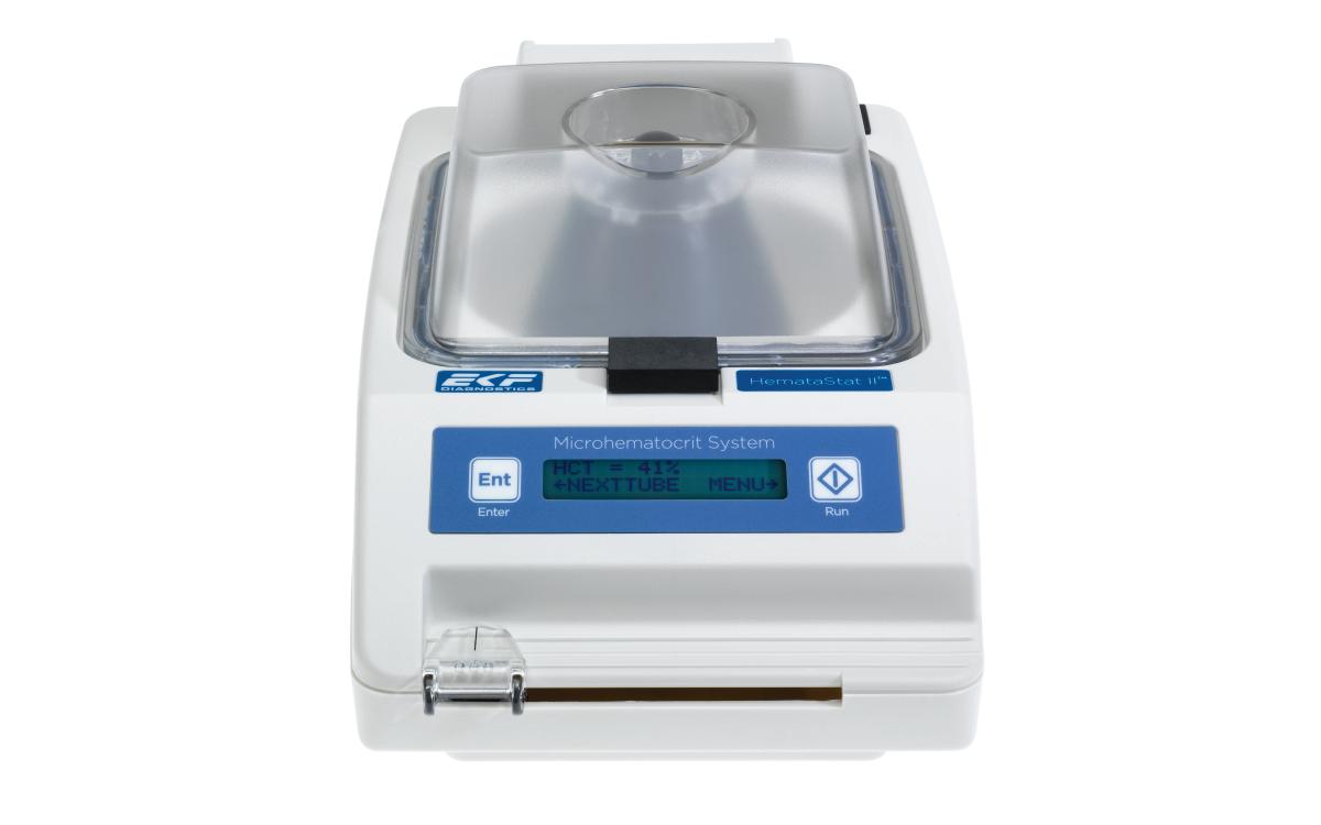 HemataStat II™ hematocrit centrifuge